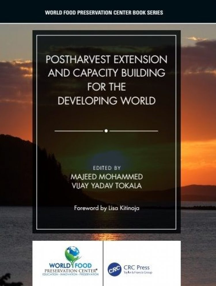 ADM Institute contributes to new postharvest extension practices book