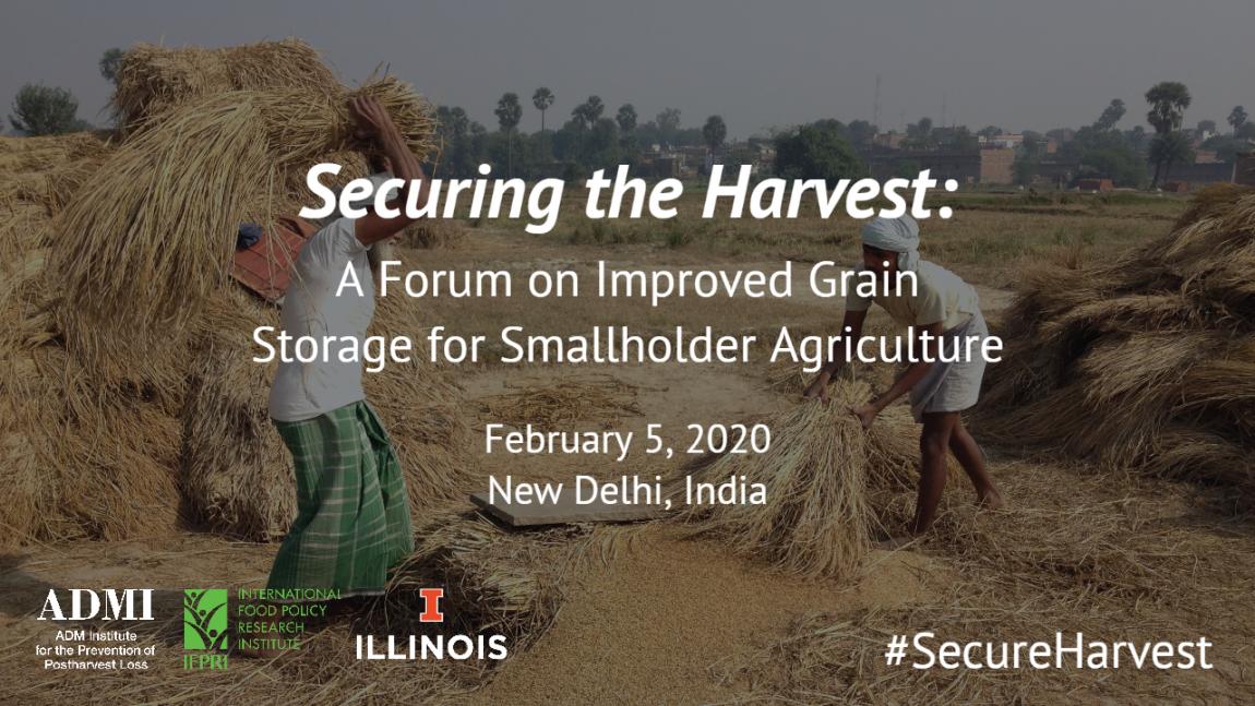 Forum on Improved Grain Storage