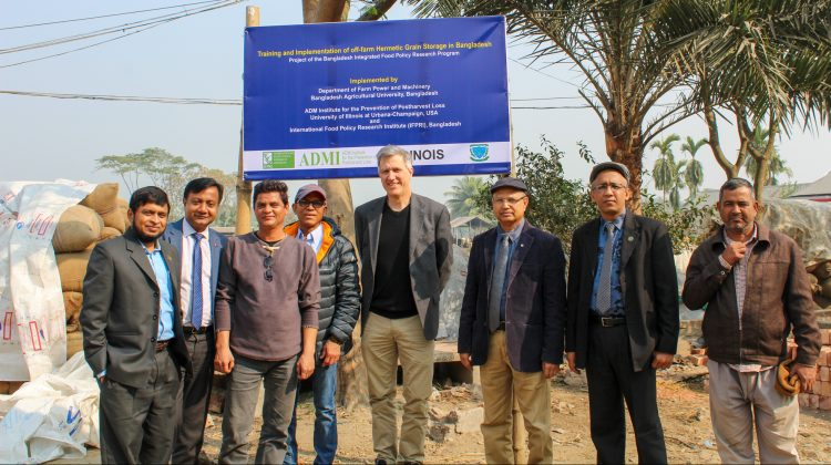 Going out the field: ADMI staff visit projects in India, Bangladesh