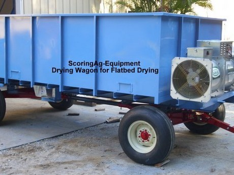 Flatbed Wagon Dryer