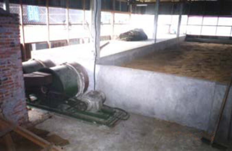 Vietnamese flatbed dryer