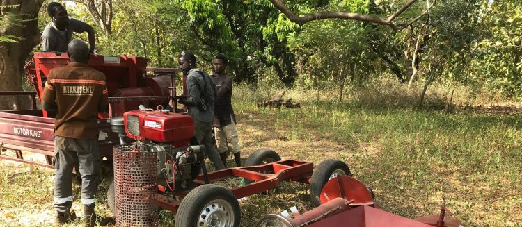 Scaling Multi-Crop Thresher Fabrication Training